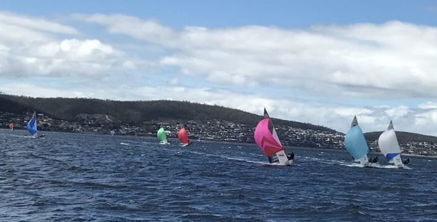 Sailing history made on the Derwent - MySailing . com . au