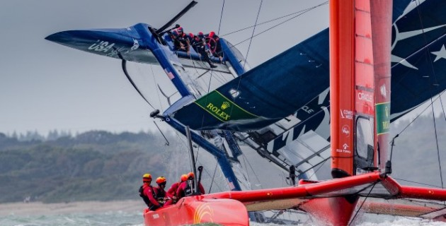 Tom Slingsby delivers masterclass in extreme conditions at Cowes