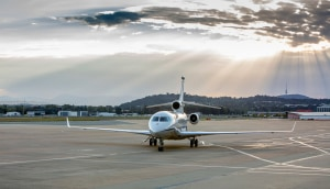 First SPA Falcon 7X arrives in Canberra
