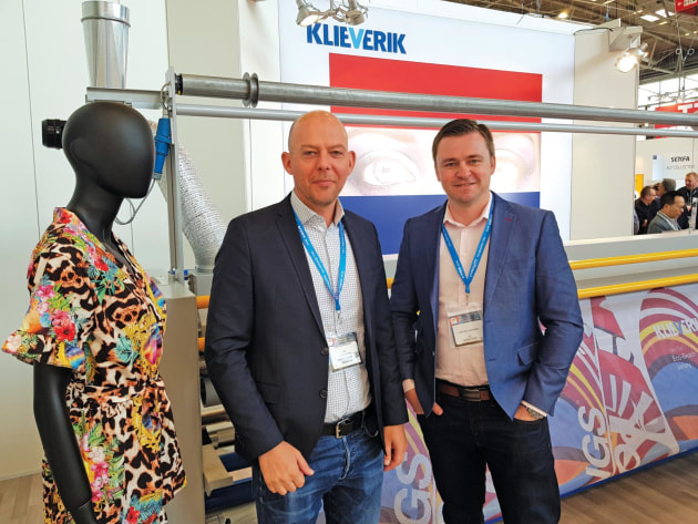 End-to-end solutions: John Buitenkamp (l) and Cleiton Schneider from Starleaton on the Klieverik stand