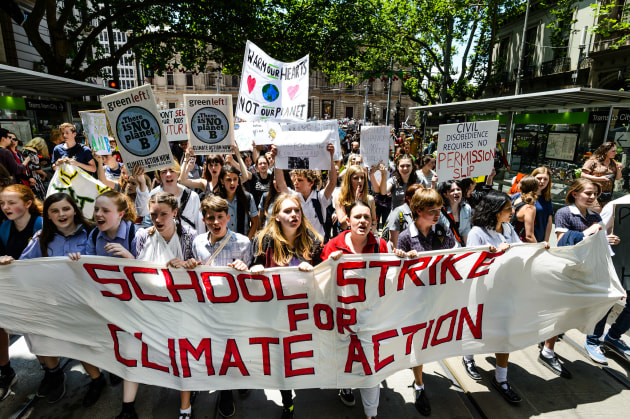 Printers will join students and other workers in global climate strikes today. (Image by Julian Meehan, licenced under CC BY 2.0)