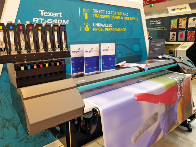 Double sided printing: Roland DG Texart