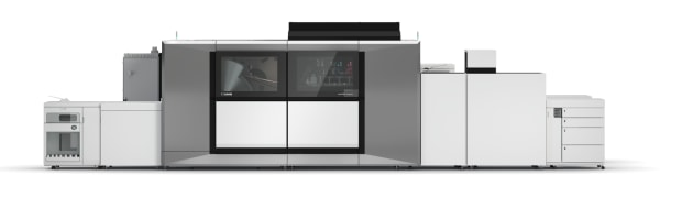 Digital inkjet at 9000sph: Canon varioPrint iX