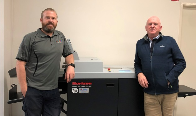 Horizon CRF-262: Daniel (director) and Geoff Shadbolt (managing director) adds to their portfolio of machines.