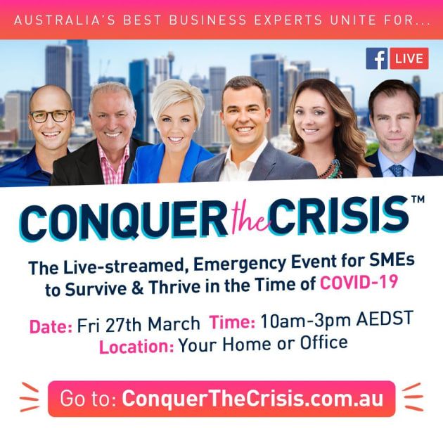 Australia's biggest live stream for SMEs: This Friday