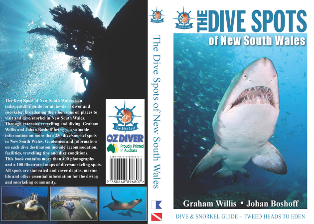 Proudly printed in Australia: The Dive Spots of New South Wales