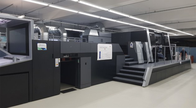 First will be first: the Heidelberg Primefire 106 at ColorDruck