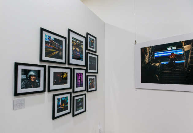 David Sark's solo exhibition of just eight images, After Hours, ran as part of the 2016 Head On festival and was exhibited at the Actor's Centre in Australia in Leichhardt, Sydney. Proof that an exhibition doesn't need to be large-scale to be successful.