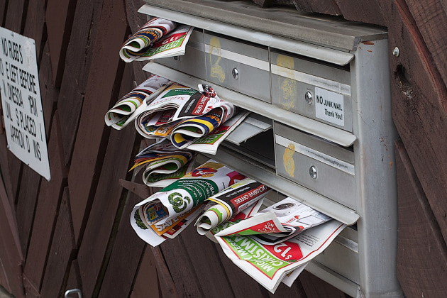 Lobbying win: Junk mail fines stayed for consideration