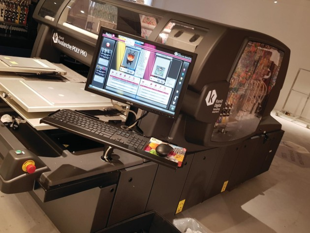 Printing directly onto polyester: new Kornit Poly Pro