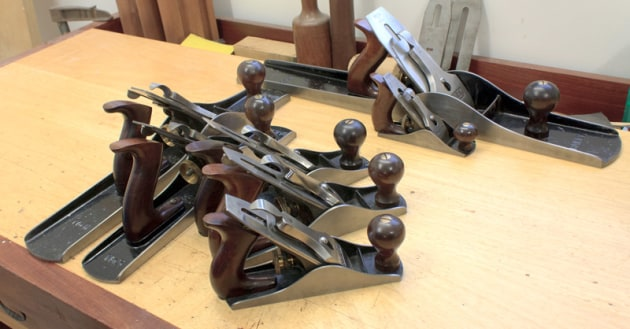 Guide type stanley plane Honing guides