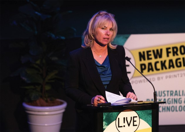 Lindy Hughson, publisher Print21 and PKN Packaging News