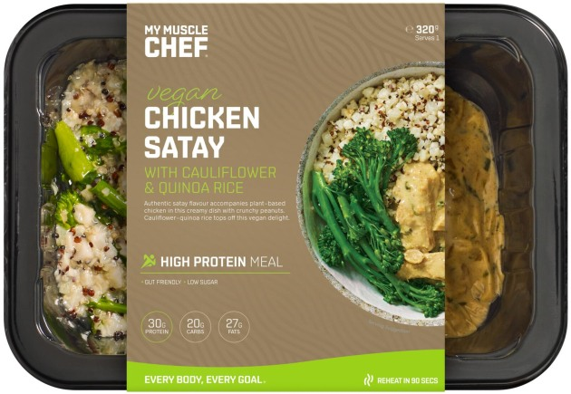 Functional meal company My Muscle Chef offers more than 80 dishes that cater to low calorie, low carb, keto and vegan needs.