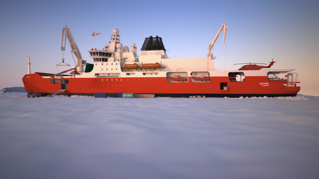 2c09fcfd00 Innovative design powers new icebreaker - Australian Defence Magazine