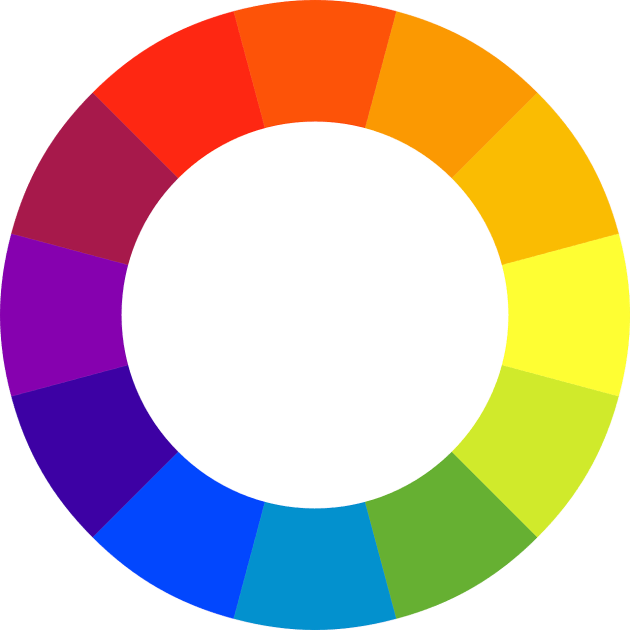 Having an understanding of colours can make a huge difference to your images. To identify complimentary colours, pick a colour on the colour wheel and draw a straight line across the wheel. This is the colour's compliment.