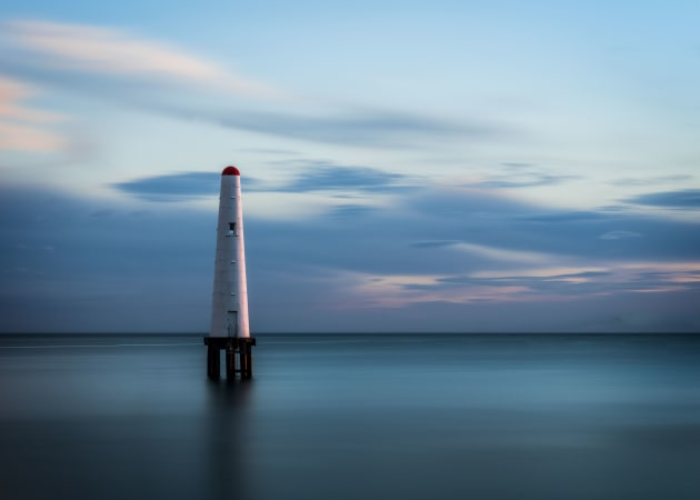 © Paul Dyke, 'Port Melbourne Beacon' - What an incredible celebration of the colour blue! There were so many great images in this month, from close-ups, to landscapes, to portraits and more.