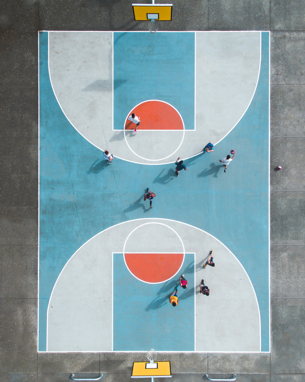 Petra Leary - Potters Park Half court, Auckland, NZ