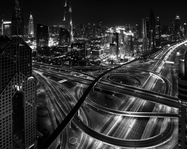 © Phillip Minnis - Dubai city scene
