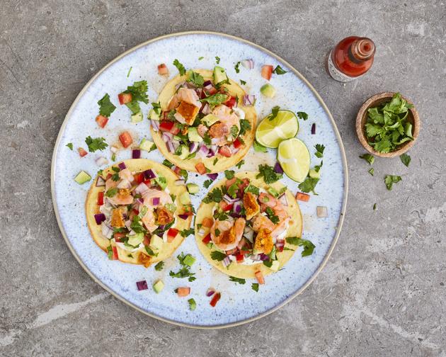 Recipe Antonio De Livier S Prawn Ceviche Foodservice