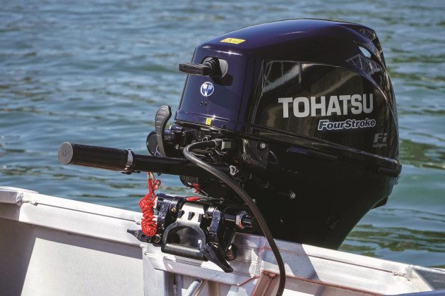 Tohatsu's new lightweight four-stroke outboard - Fishing World