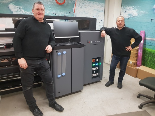 Installed: with the new HP Latex L3600 at VFX Digital are