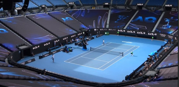 Covered: Vivad produces 1.5 kilometres of print in record time to deal with snap lockdown at Australian Tennis Open