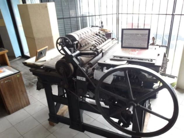 Up for auction: Wharfedale Stop Cylinder Press