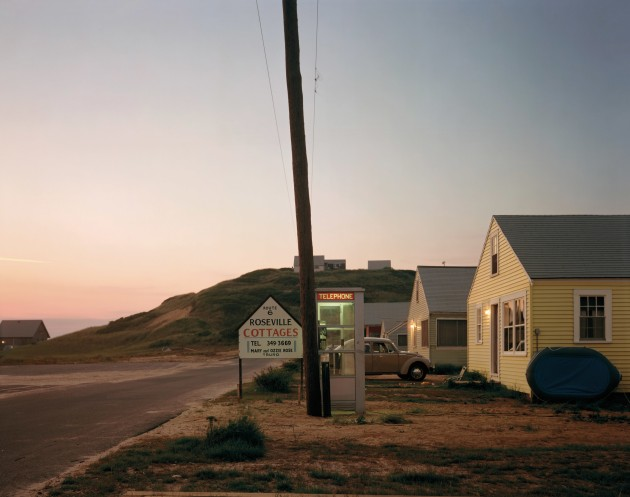 Roseville Cottages, Truro, Massachusetts, 1976. Courtesy and Copyright of Joel Meyerowitz