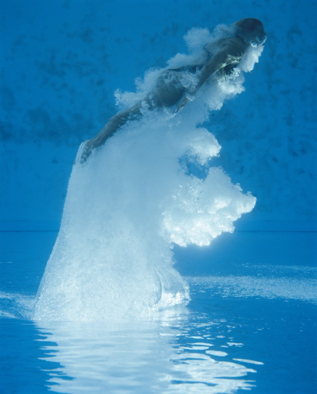 Rising Diver, Florida, 2007. Courtesy and Copyright of Joel Meyerowitz.