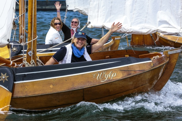 Wooden Boats Sail On Despite Fires Marine Business