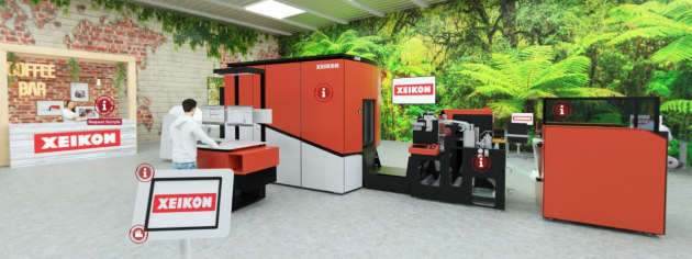 Virtual: Xeikon wall decoration printing centre
