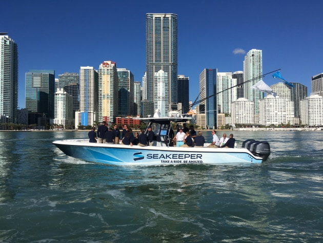 Seakeeper Rolls With New Owners Marine Business