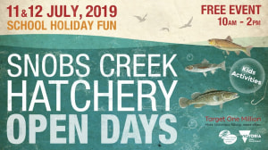 Snobs Creek Hatchery Open Days