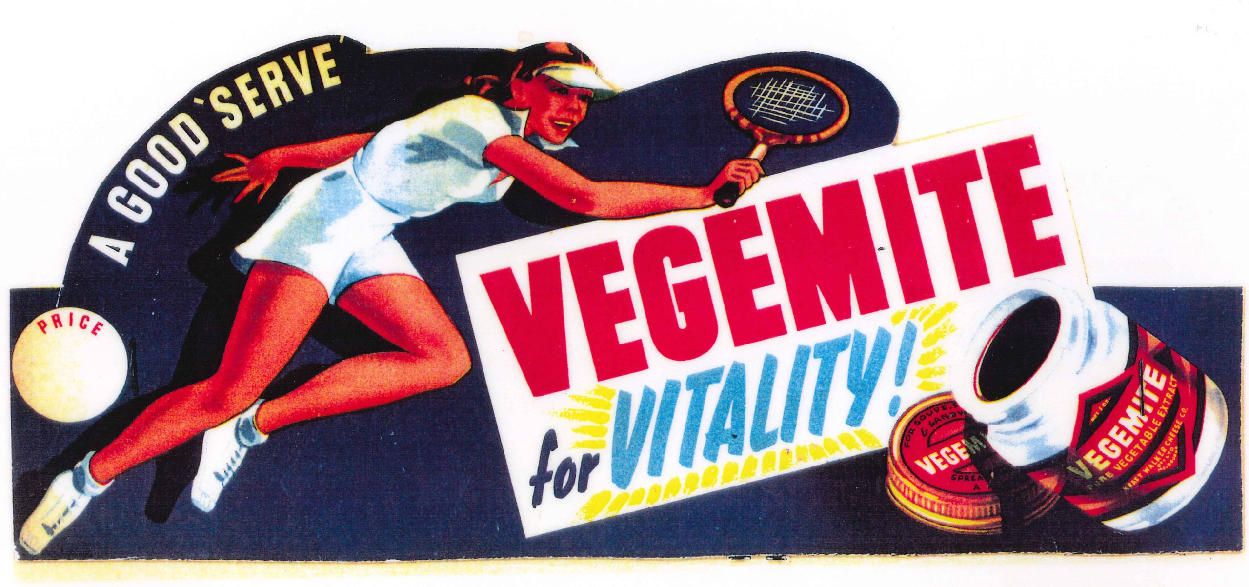 Vegemite in the 30s.