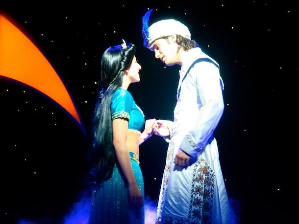 Sheridan Mouawad in Aladdin.