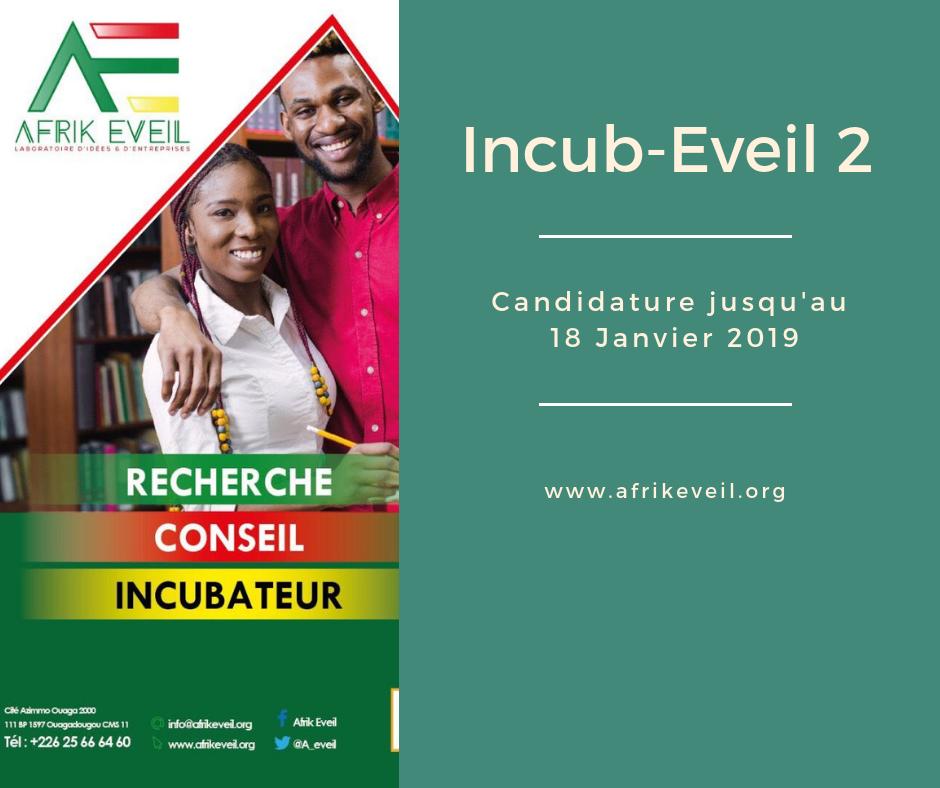Afrik-Eveil Launches Incub-Eveil 2