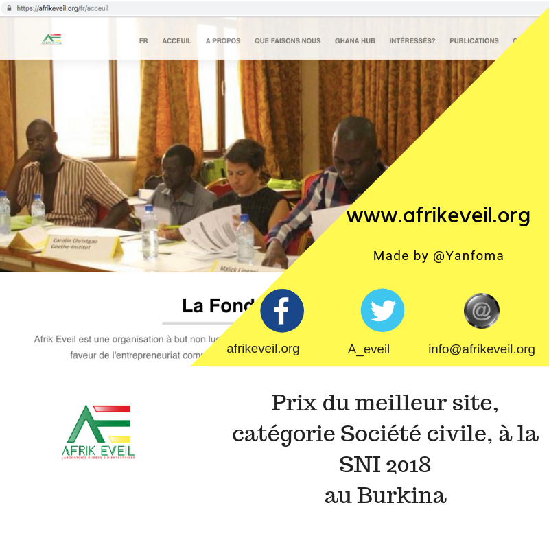 SNI: AFRIK EVEIL FOUNDATION GOLDEN GAMBRE