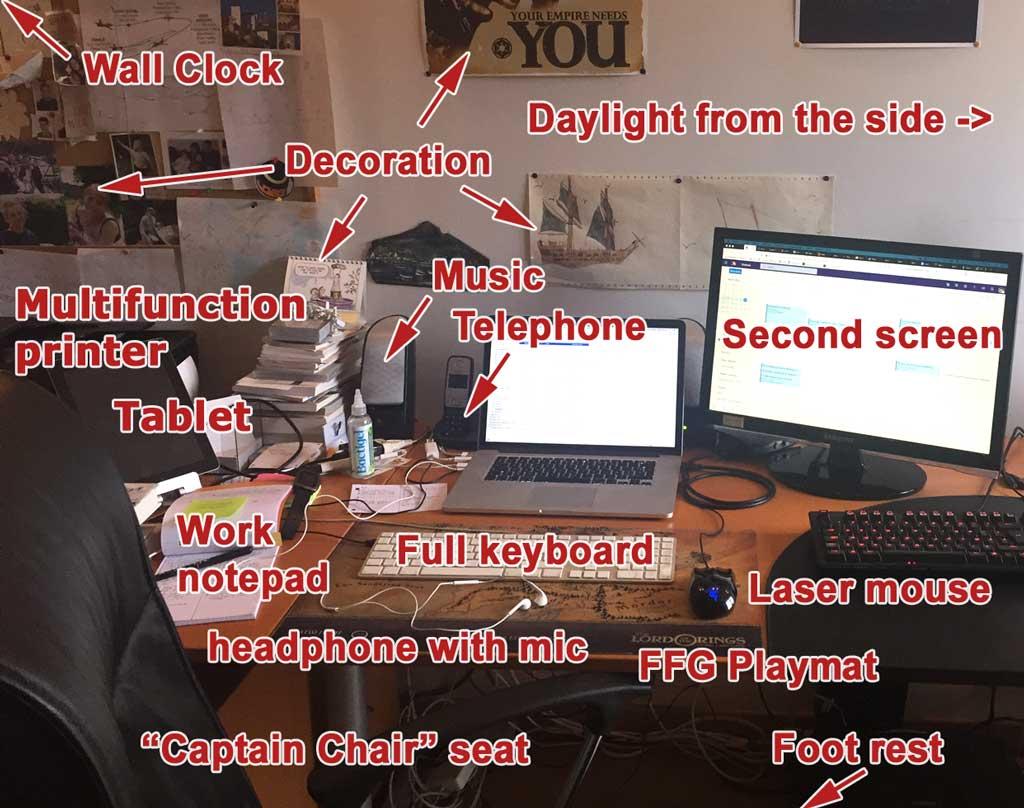 Work Station details