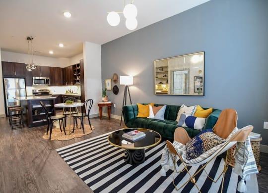 Living Room Interior - Bleecker Street