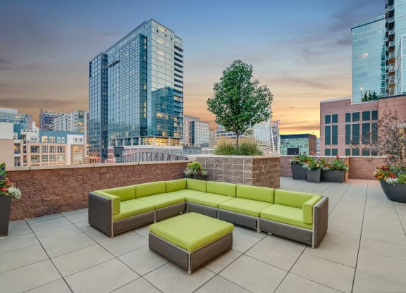 Luxury Apartment Homes Available at The Manhattan Tower and Lofts, 1801 Bassett Street, Denver