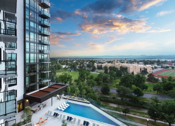 Luxury Apartments Available InDenver'sGolden Triangle at 1000 Speer by Windsor, 1000 Speer Blvd., Denver