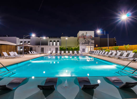 Year-Round Heated Salt Water Pool at Morningside Atlanta by Windsor, Atlanta, Georgia