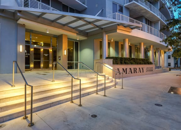Front Entrance at Amaray Las Olas by Windsor, Fort Lauderdale, 33301
