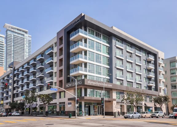 Live in the Heart of LA at Olympic by Windsor, 936 S. Olive St, Los Angeles