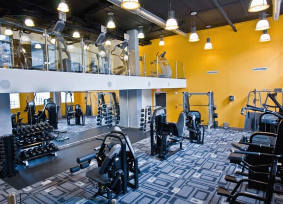 State Of The Art Fitness Center at Highland Park at Columbia Heights Metro, Washington, DC