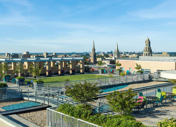 Rooftop View at Highland Park at Columbia Heights Metro, Washington, Washington