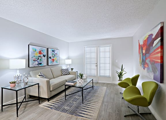 spacious floorplans and living room