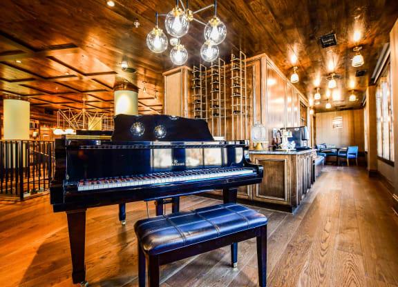 Piano at The Charles