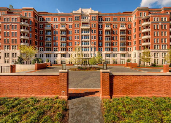 Apartment Entrance at The Woodley, 2700 Woodley Road, NW, Washington, District of Columbia