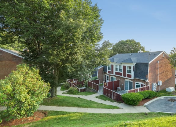 Meticulous Landscaping With Lovely Woods at Windsor Village at Waltham, Waltham, MA